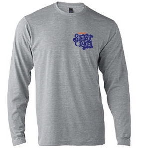 Long Sleeve Softstyle T-Shirt (Youth & Adult) / Heather Gray / Lynnhaven Student Council