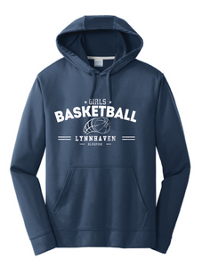 Performance Fleece Sweatshirt / Navy Blue / Lynnhaven Basketball - Fidgety