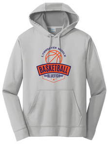 Performance Fleece Sweatshirt / Silver / Lynnhaven Basketball - Fidgety