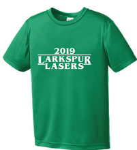 Posi-UV Pro Tee (Youth & Adult ) / Kelly Green / Larkspur Lasers Swim - Fidgety