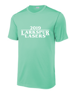 Posi-UV Pro Tee (Youth & Adult ) / Seafoam / Larkspur Lasers Swim - Fidgety