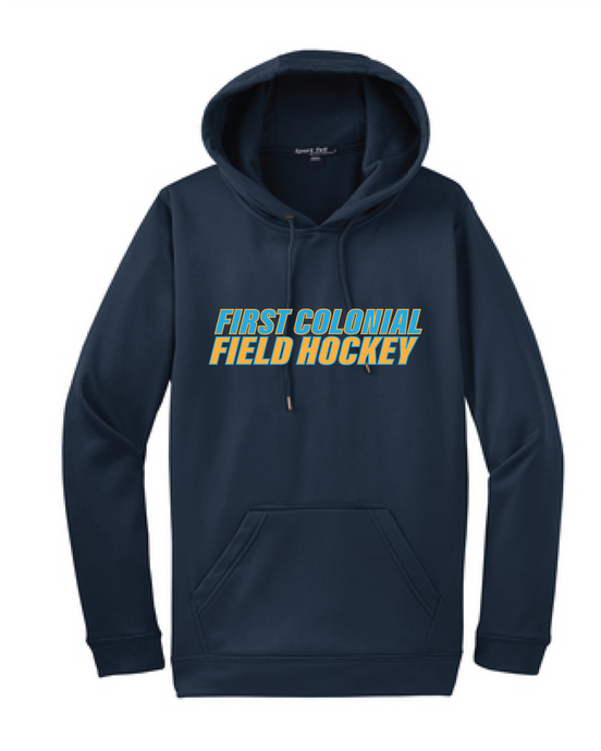 Performance Fleece Hooded Pullover / Navy / FC Field Hockey - Fidgety