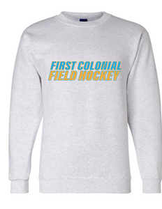 Champion Double Dry Crewneck Sweatshirt / Light Gray / FC Field Hockey - Fidgety