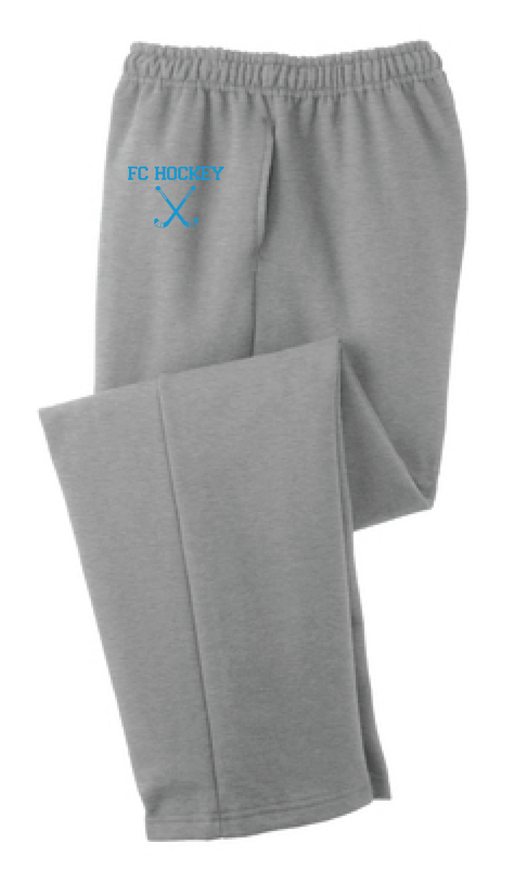 Core Fleece Sweatpants with Pockets / Gray / FC Field Hockey - Fidgety