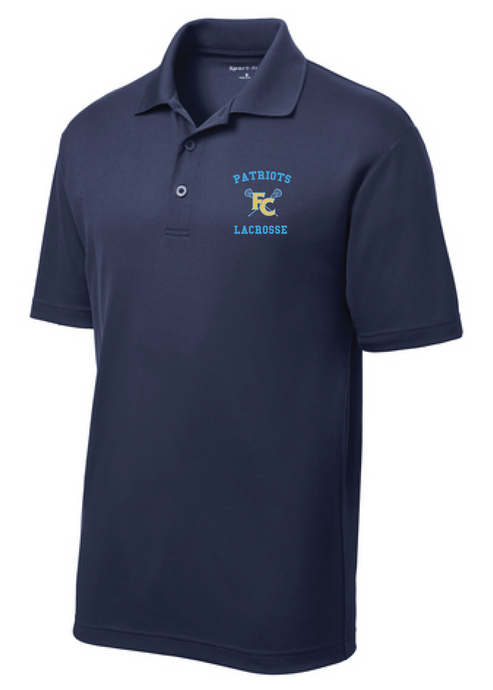 Men's Performance Polo / Navy / FC Lacrosse - Fidgety
