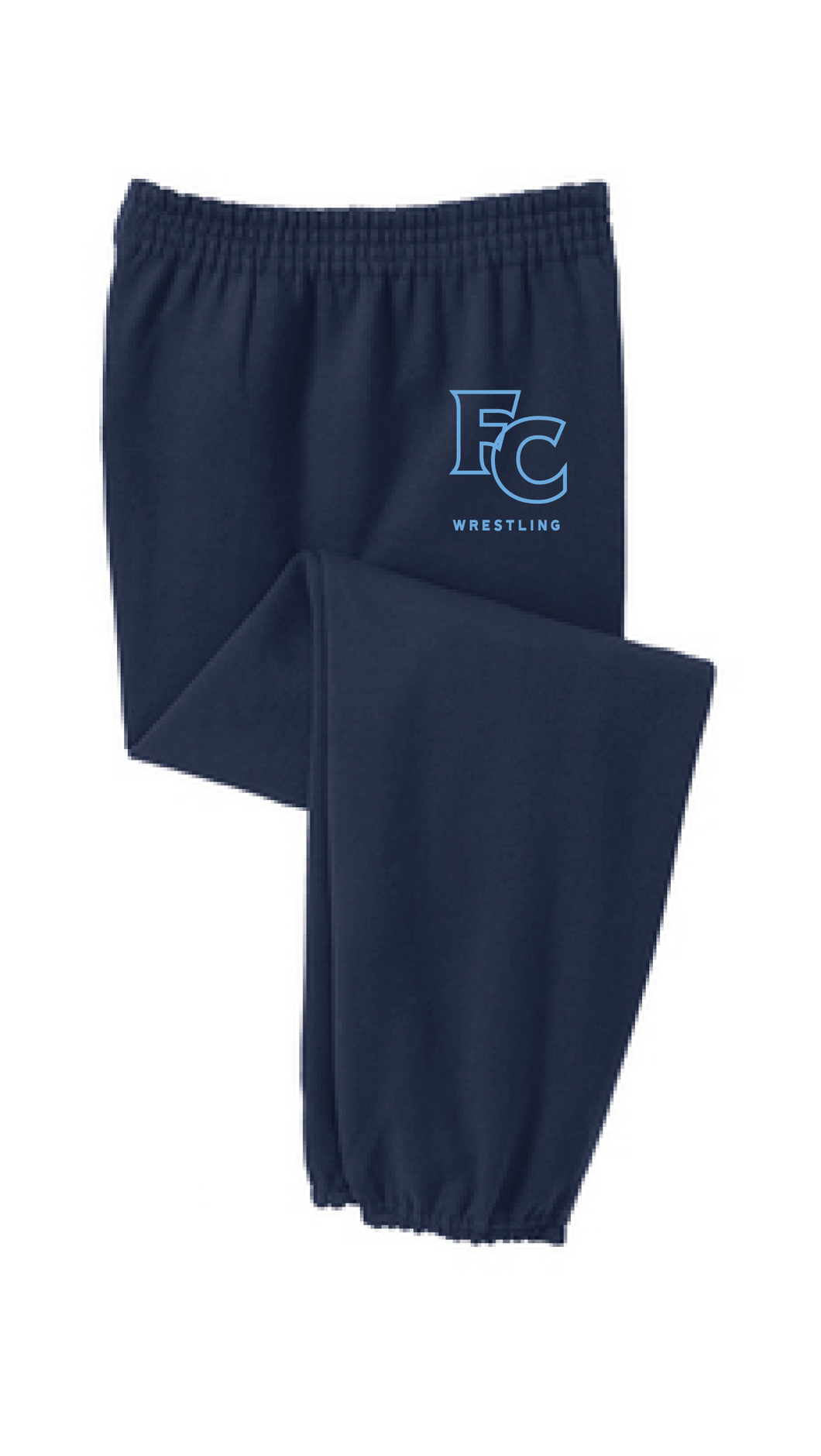 Fleece Sweatpants with Pockets / Navy / FC Wrestling