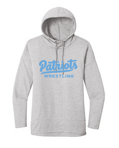 Women's Featherweight French Terry Hoody / Light Heather Grey / FC WRESTLING