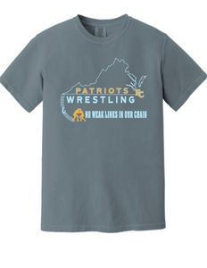 Comfort Colors® Heavyweight Ring Spun Tee / Granite / FC WRESTLING