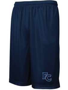 Classic Mesh Basketball Shorts (Youth & Adult) / Navy / FC Wrestling