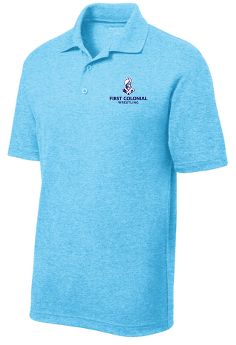 Performance Polo / Pond Blue Heather / FC Wrestling