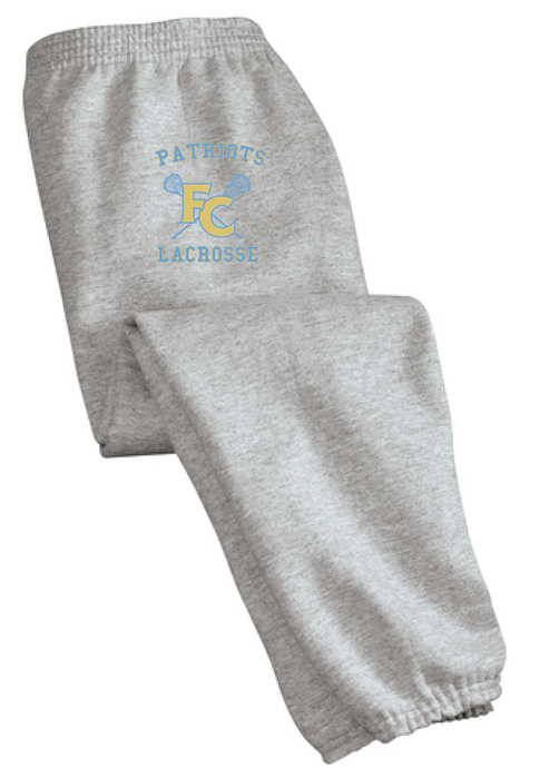 Essential Fleece Sweatpant with Pockets / Athletic Heather / FC Lacrosse - Fidgety