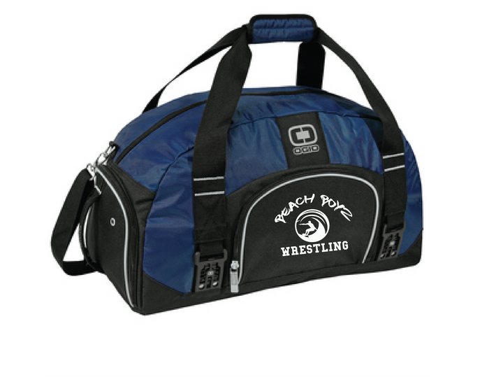 Big Dome Duffle Bag / Navy / Beach Boyz - Fidgety