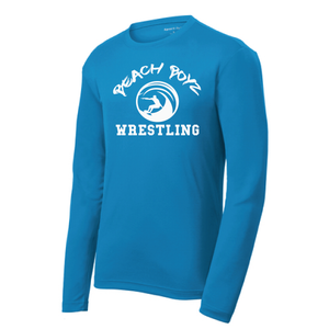 PosiCharge RacerMesh Long Sleeve Tee / Royal Blue / Beach Boyz - Fidgety
