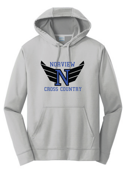 Performance Hoody / Silver / Norview CC - Fidgety