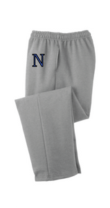 Core Fleece Sweatpants / Gray / Norview CC - Fidgety