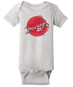 Infant Short Sleeve Baby Rib Bodysuit / Heather Gray / CHKD NICU - Fidgety