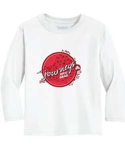 NICU Grad Performance Long Sleeve Shirt / White / CHKD NICU - Fidgety