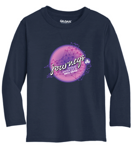 NICU Sister Performance Long Sleeve Shirt / Navy / CHKD NICU - Fidgety