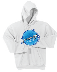 NICU Parent Hooded Sweatshirt / White / CHKD NICU - Fidgety