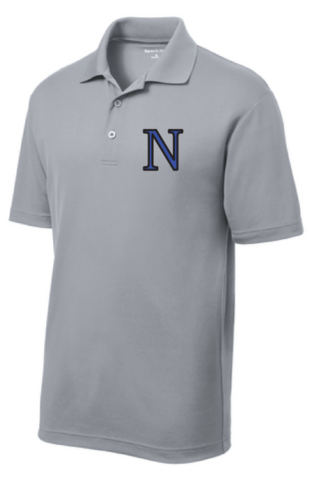 Mens PosiCharge RacerMesh Polo / Grey Heather / Norview Swim