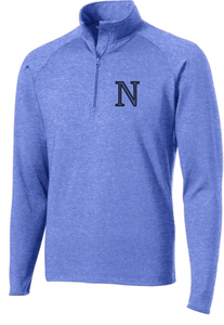 PosiCharge Competiton 1/4-Zip Pullover / True Heather Royal / Norview Swim
