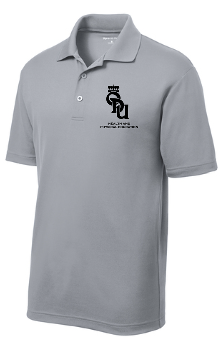 Mens PosiCharge® RacerMesh® Polo / Grey Heather / ODU HPE - Fidgety