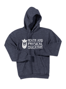Core Fleece Pullover Hooded Sweatshirt / Heather Navy / ODU HPE - Fidgety