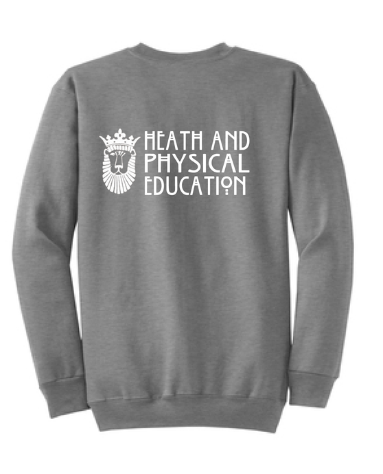 Core Fleece Crewneck Sweatshirt / Athletic Heather / ODU HPE - Fidgety
