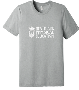 Unisex Poly-Rich Blend T-Shirt / Grey Heather / ODU HPE - Fidgety