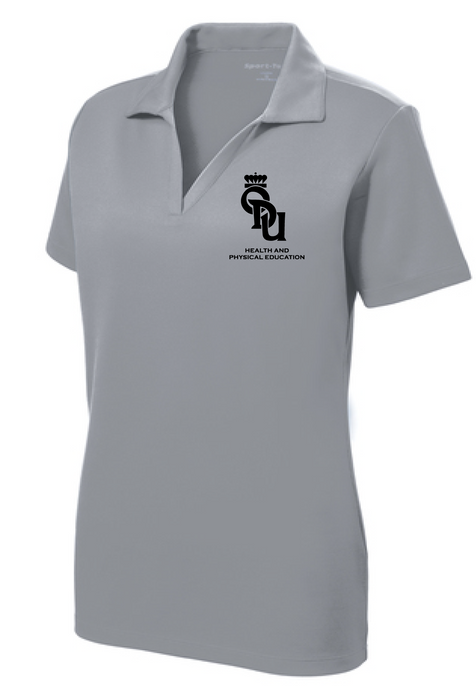 Ladies PosiCharge® RacerMesh® Polo / Heather Grey / ODU HPE - Fidgety