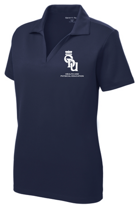 Ladies PosiCharge® RacerMesh® Polo / Navy / ODU HPE - Fidgety