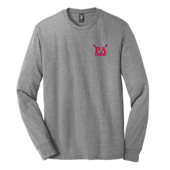 Perfect Tri Long Sleeve Tee / Grey Frost / Princess Anne HS Crew