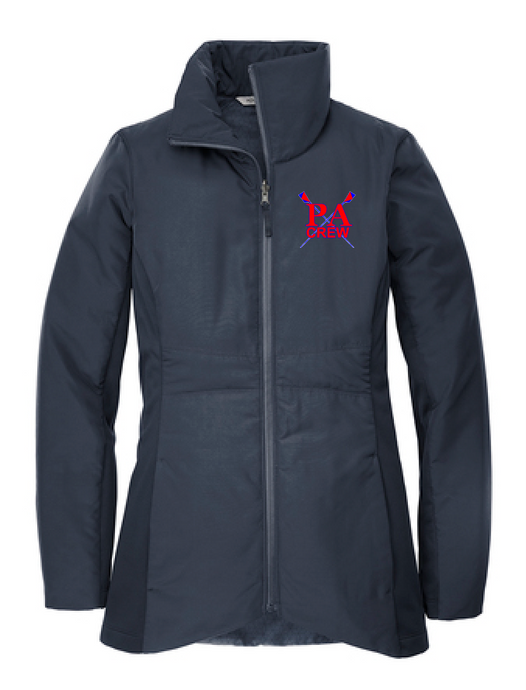 Ladies Collective Insulated Jacket / Navy / Princess Anne HS Crew