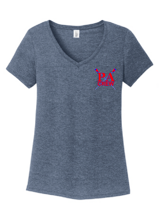 Perfect Tri V-Neck Tee / Navy Frost / Princess Anne HS Crew