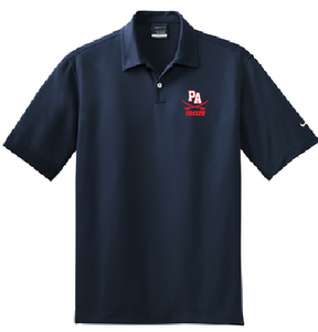 Nike Dri-FIT Pebble Texture Polo / Navy / Princess Anne High School Soccer