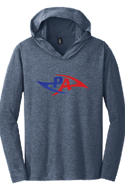 PA Tri-Blend Long Sleeve Tee / Navy / Princess Anne HS - Fidgety