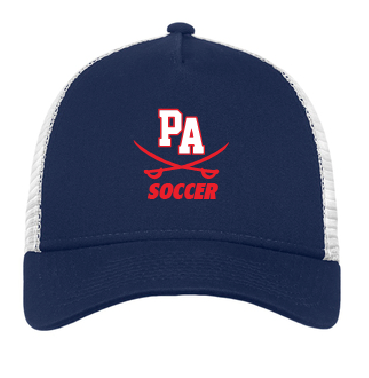 PA Trucker Hat  / Navy / Princess Anne High School Soccer