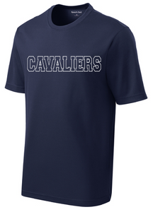 Dri-fit Performance Short Sleeve Shirt / Navy / Princess Anne High School Soccer
