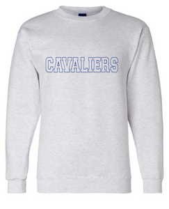 Cavaliers Crew Neck Sweatshirt / Ash / Princess Anne High School Soccer