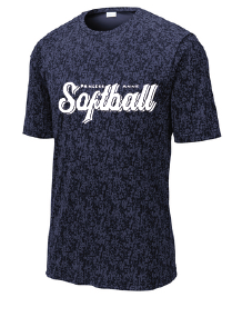 Short Sleeve Digi Camo Tee / Navy  / PAHS Softball