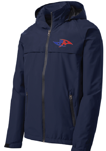 PA Waterproof Jacket / Navy / Princess Anne High School - Fidgety