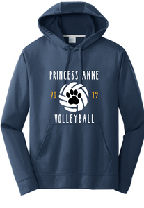 Performance Hoody/ Navy / PA Volleyball - Fidgety