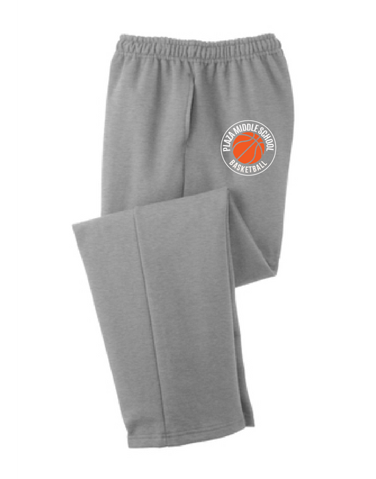 Core Fleece Sweatpants / Gray / Plaza Girls Basketball - Fidgety
