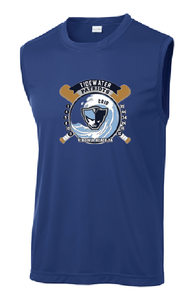 Men's Sleeveless Posi-Charge Sport Tank NAVY - Tidewater Baseball - Fidgety