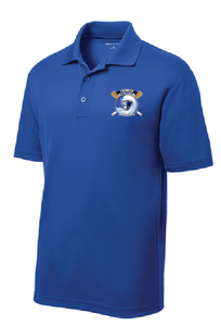 PosiCharge RacerMesh Polo / Royal / Tidewater Baseball - Fidgety