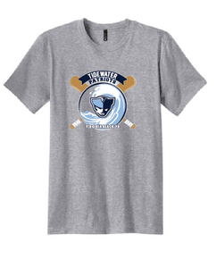 Core Cotton T-Shirt/ Athletic Heather / Tidewater Patriots - Fidgety