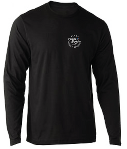 Long Sleeve Softstyle T-Shirt / Black / Plaza French Club