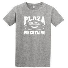 Core Cotton T-Shirt / Athletic Heather / Plaza Wrestling