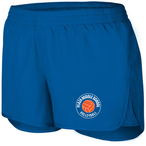Wayfarer Shorts / Royal / Plaza Volleyball