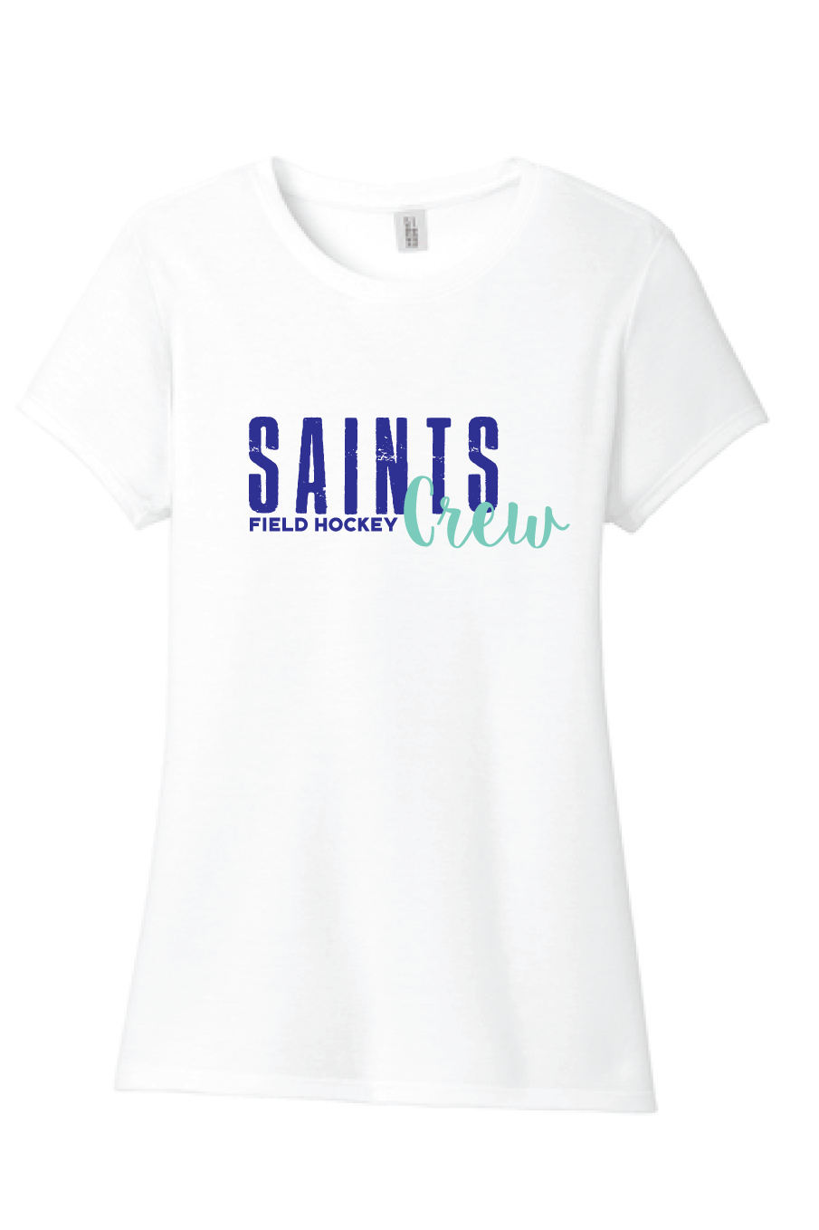 Youth & Adult Tri-Blend Tee / White / Saints Crew - Fidgety